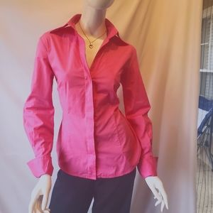 Moda International pink/foldable sleeves/buttons